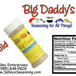 Big Daddy's Mild Seasoning