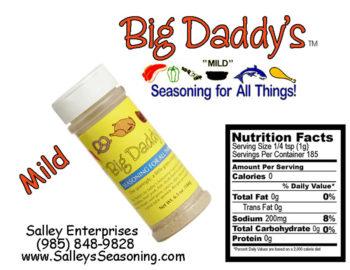 Big Daddy's Mild Seasoning